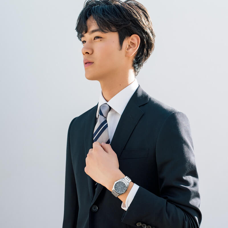 suit-watch-model