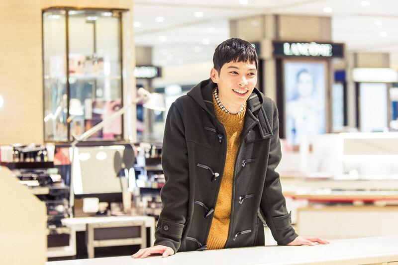 ginza-mitsukoshi-model