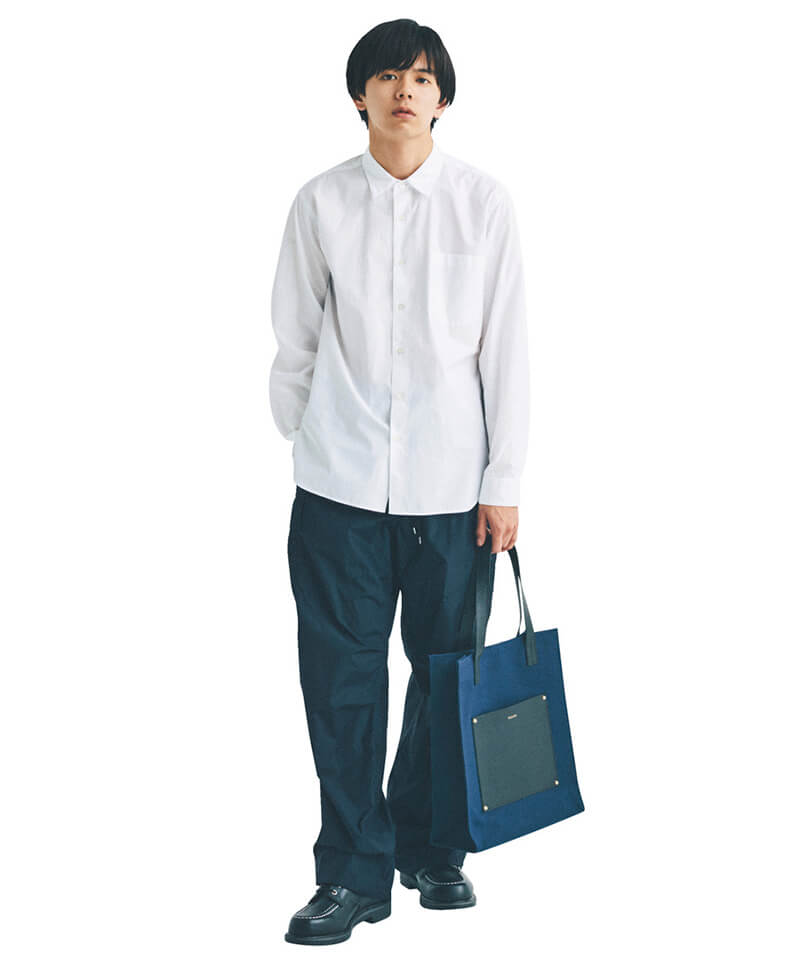 メンズ 白 ワイシャツ コーデ