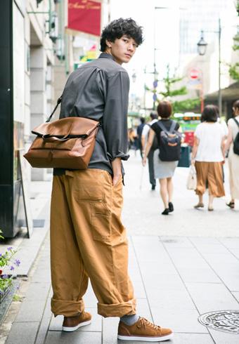 清原 翔「コーチの革小物でN.Y.ワークスタイル!」 | ホットトピックス