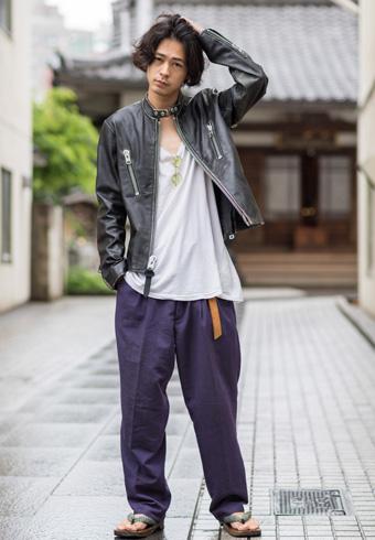 成田 凌が着こなす「COACH」の新作ライダース | ホットトピックス