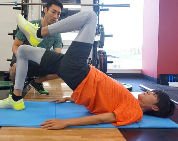 山本涼介の肉体改造トレーニングがスタート_メガスライダー