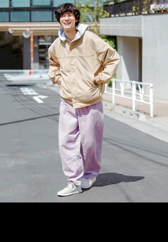 清原 翔「明るいグレーのスニーカーが欲しかったんです」_ホットトピックス