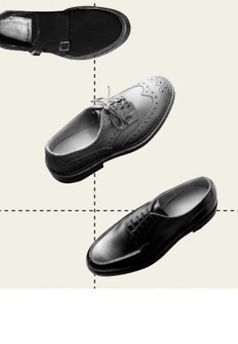 マンガで学ぼう!革靴の種類とフォーマル度_ホットトピックス