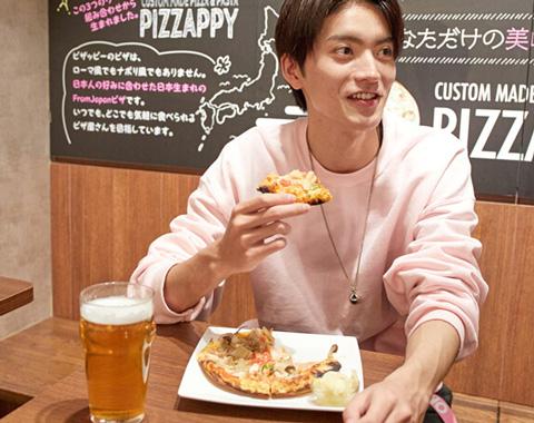 山本涼介「ピザッピーのカスタムピザが楽しすぎます!」_メガスライダー