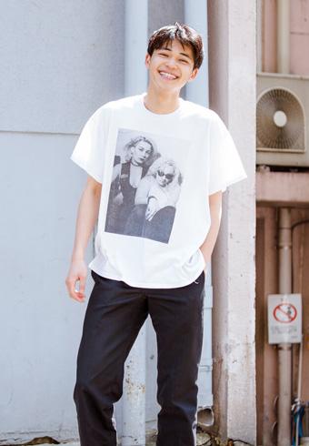 中田圭祐「Tシャツ、チノパン、サンダルの初夏コーデ!」_ホットトピックス