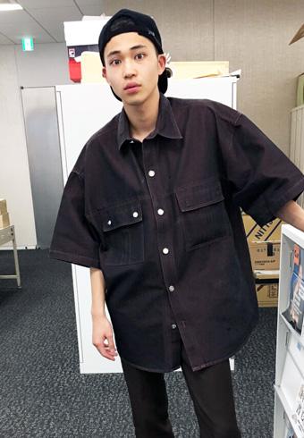 中田圭祐「発売中メンズノンノで一週間分の私服を見せてます!」_ホットトピックス