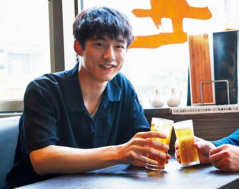 坂口健太郎「今月も予想外の対談ゲストでした!」_メガスライダー