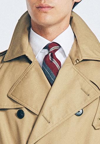 スーツの「Vゾーン」をコート別にコーディネート!_ホットトピックス