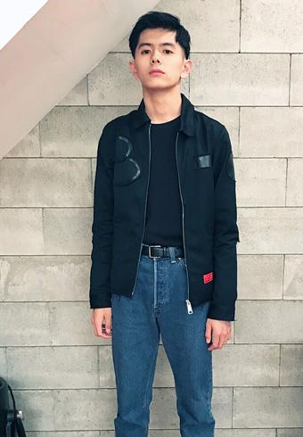 井上翔太「カーハートの欧州ラインのブルゾンです」_ホットトピックス