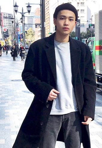 中田圭祐「僕の定番、ブラックコーデは高級っぽさがコツ」_ホットトピックス
