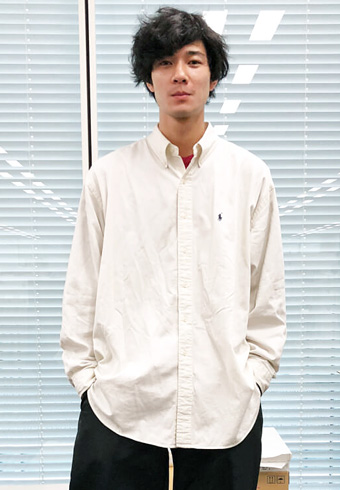 清原 翔「ラルフローレンのシャツ一枚で日中は過ごせますね!」_ホットトピックス
