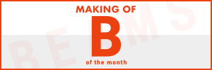MAKING OF B of the month|サイドバナー