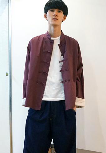 髙見翔太「守屋先輩と成田先輩リスペクトコーデです!」_ホットトピックス