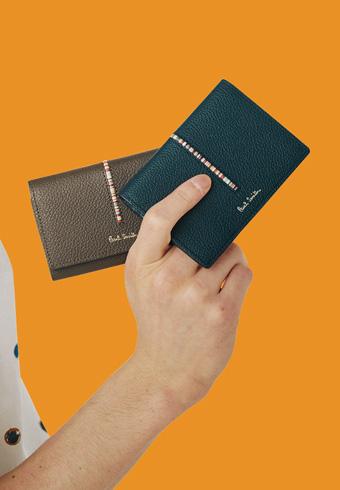 大人なレザーとさりげない個性ポール・スミスの新作財布_ホットトピックス