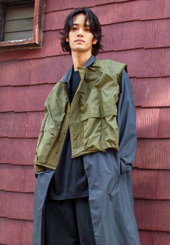 遠藤史也「雨の日にも強いオールミリタリー古着」_ホットトピックス