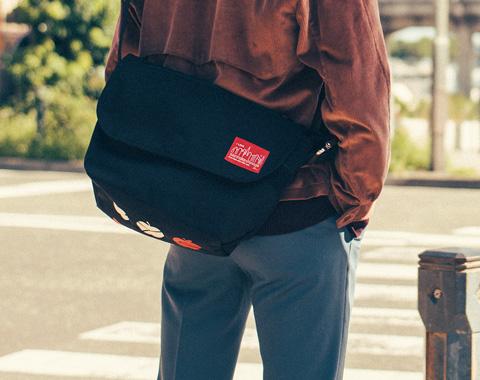 マンハッタン ポーテージ35周年のバッグで街へ!_メガスライダー