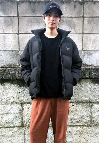 坂田秀晃「ダウンコーデの私服は、たぶん一番乗りです!」_ホットトピックス