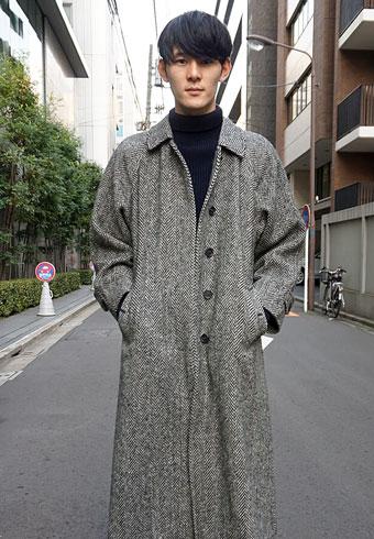 髙見翔太「バーバリーのコートはレディースなんです」_ホットトピックス