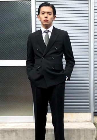 井上翔太「成人式に出席した日のスーツスタイルです!」_ホットトピックス