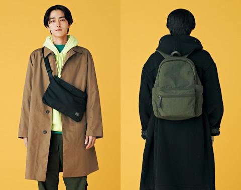 ロングコートに似合うバッグがわかった!_メガスライダー