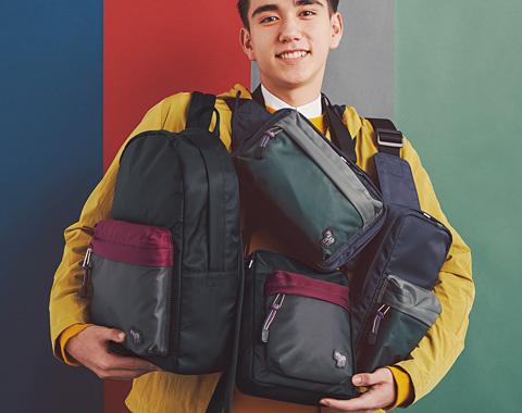 ゼブラパッチのバッグに新しいカラーリングが登場_メガスライダー