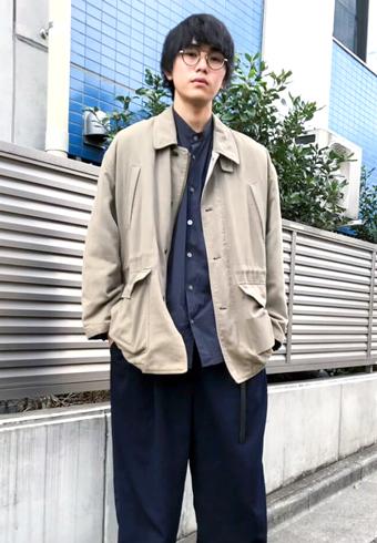 坂田秀晃「今春はこのジャケットのような明るめのトーンで!」_ホットトピックス