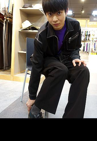 鈴木 仁「大人っぽくはけそうなスラックスを発見しました!」_ホットトピックス