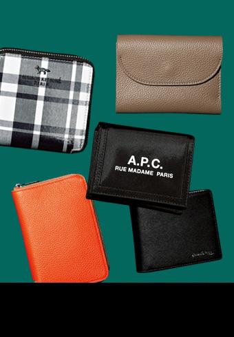 使い勝手のいい大きさな「M」サイズの財布セレクション_ホットトピックス