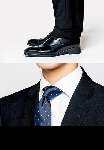 きれいなスーツスタイルをつくる、チェックポイント8_ホットトピックス