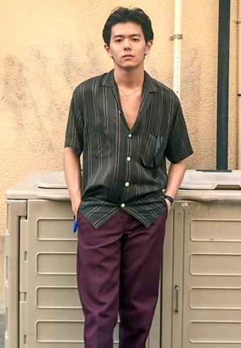 井上翔太「重めな色の上下は着こなしの工夫でハズします」_ホットトピックス
