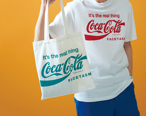 FACETASM ×  コカ・コーラトートバッグ_メガスライダー
