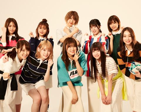 欅坂46の10人がラガーシャツに着替えたら_メガスライダー