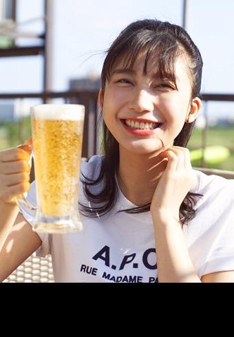 「お酒はめっちゃ好きです!」小倉優香さんとバーベキュー_ホットトピックス