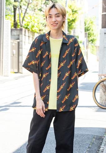岸本ルーク「金髪になりました。着る服も変わってきますね!」_ホットトピックス