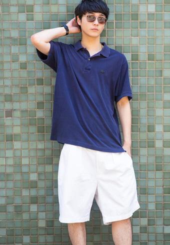 三宅亮輔「上下とソックスまでバランスにこだわっています!」_ホットトピックス