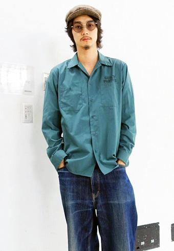 栁 俊太郎「ワコマリアのシャツは色が気に入って購入しました」_ホットトピックス