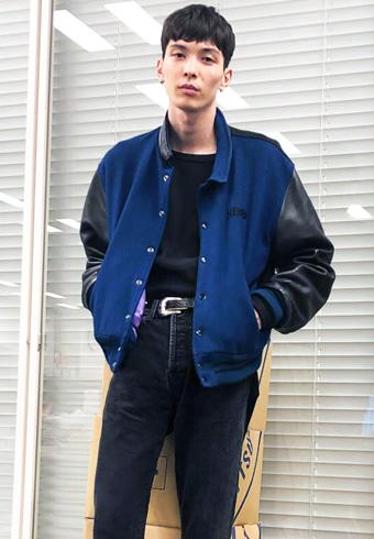守屋光治「このジャケットは背中と裏地がポイントです」_ホットトピックス