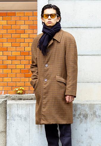 井上翔太「チェックの色を小物で拾うのがオススメ!」_ホットトピックス
