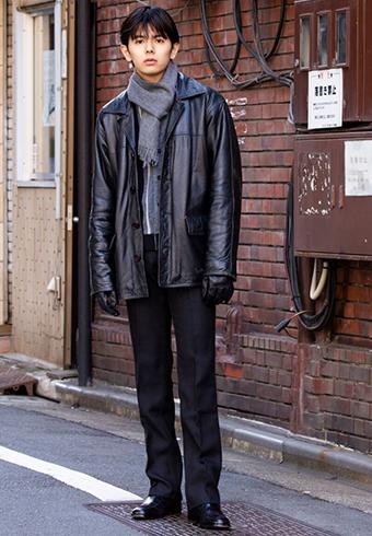 井上翔太「黒とグレーの組み合わせが上品!」_ホットトピックス