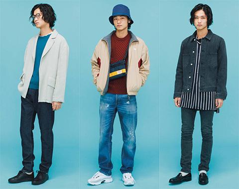 3タイプの今どきジーンズ今っぽいコーデは?_メガスライダー