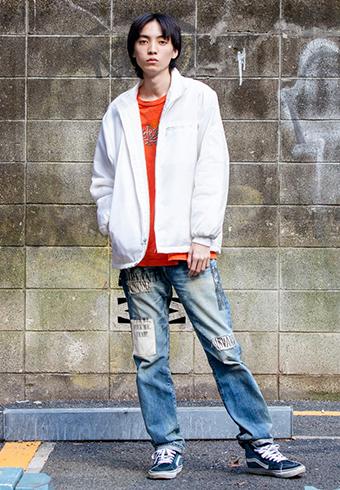 岸本ルーク「ホワイトもちょっとやんちゃに着たいです!」_ホットトピックス