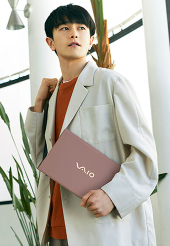 おしゃれにこだわる僕らが選ぶノートPCは、VAIO_ホットトピックス